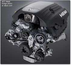 Dodge 5.7 HEMI engine - variable cam