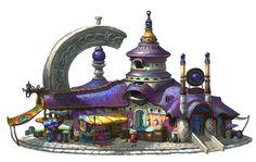 house, Hosik Kang on ArtStation at https://www.artstation.com/artwork/5dNJA