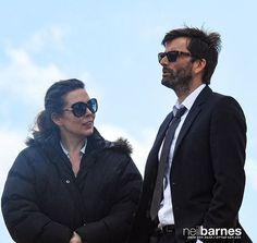 PHOTOS: David Tennant, Olivia Colman & Lenny Henry Shoot Football Scenes At West Bay For Broadchurch