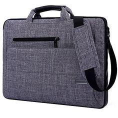 Laptop Bag For 14 Inch Laptop, BRINCH� Multi-functional Suit Fabric Portable Laptop Carrying Bag / Shoulder Laptop Bag / laptop messenger bag / Notebook Computer Sleeve Case Bag Handbag for 14-14.1 Inch Laptop / Tablet / Macbook / Notebook,Grey