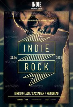 top 50 alternative indie rock top and new indie rock flyer templates psd…