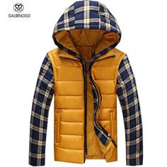 Gender: MenOuterwear Type: Down & ParkasCuff Style: Rib sleeveFilling: CottonClosure Type: ZipperClosure Type: ZipperFabric Type: BroadclothHooded: YesDown Content: Double-layerColor Style: SolidDecoratio. Plaid Jacket, Hooded Jacket, Thermal Jacket, Black Men, Hoods, Winter Jackets, Man Coat, Mens Winter, Sleeves