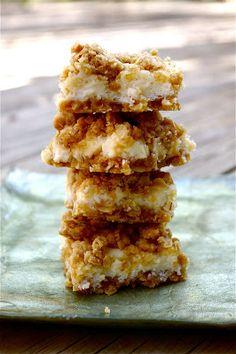 Creamy Meyer Lemon Crumb Bars
