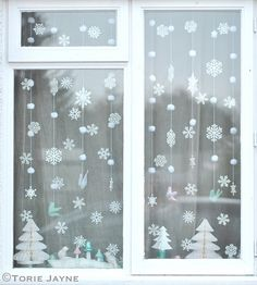 Winter wonderland window | Blogged at Torie Jayne.com Blog|F… | Flickr