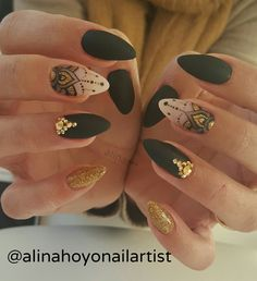 263 mentions J'aime, 8 commentaires – Alina Hoyo Nail Artist ( Fabulous Nails, Gorgeous Nails, Pretty Nails, Gorgeous Gorgeous, Fancy Nails, Love Nails, My Nails, Henna Nails, Henna Nail Art