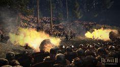 Total War: Rome II Trailer & Screenshots Re-Enact The Battle Of Teutoburg Ancient Rome, Ancient History, Valhalla, Everything Burns, German People, Roman Era, Roman Soldiers, Total War, War Machine