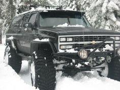 1990 Chevrolet Suburban > Off Roads! Chevy 4x4, Lifted Chevy Trucks, Custom Trucks, Cool Trucks, Pickup Trucks, Ford 4x4, Chevrolet Suburban, Chevrolet Tahoe, Chevrolet Trucks