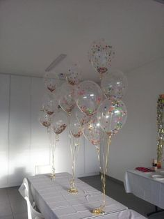 The 'big kids' and 'little kids' will LOVE this for your next party! Colourful confetti balloons add that extra fun factor for everyone...have them as an arrangement or they look stunning just loose on ceilings!
