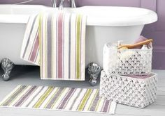 Pastel Stripe Towel from Next
