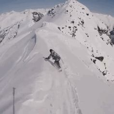 Casual backcountry follows with Travis Rice. / Whitelines Snowboarding