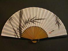 Japanese Paper Fan (Sensu) - Bamboo