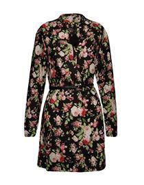 Vestido manga floral Khelf - chemise -