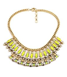Collar Fluor / Fluor Necklace www.welowe.com