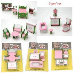 3pcs/ set Mini Dollhouse furniture toy miniature accessory doll Pretend living room pink bed stool table toy gift for girl kids - http://toysfromchina.net/?product=3pcs-set-mini-dollhouse-furniture-toy-miniature-accessory-doll-pretend-living-room-pink-bed-stool-table-toy-gift-for-girl-kids