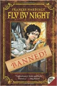#StaffPicks #KidsFiction Mosca lives in a land similar to, but divergent from, 1700s England. After a brief Reign of Terror, 3 Guilds hold supreme power. The Watermen control traffic, the Locksmiths control the city, and the Stationers burn all printed material that does not meet their approval. With limited options for learning, Mosca falls in with a con artist and a goose, who proceed to blunder through political intrigue and conspiracies. Read full review…