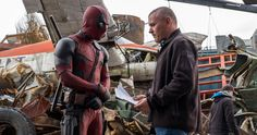'Deadpool' Reshoot Photos Have Ryan Reynolds Back in Costume -- Ryan Reynolds has returned to his home town of Vancouver to shoot additional scenes for 'Deadpool'. -- http://movieweb.com/deadpool-movie-reshoots-photos-ryan-reynolds/