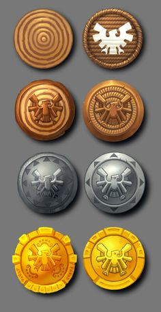 Brandt Andrist: Age of Empires Online! Game Ui Design, Icon Design, Game Concept, Concept Art, 2d Game Art, Game Props, Game Interface, Age Of Empires, Game Icon