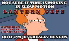 Futurama Fry supports The Lantern.