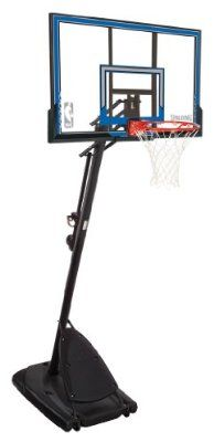 Spalding Huffy Portable Basketball System - 50in Polycarbonate Backboard