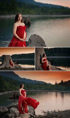 Mukilteo maternity photographer Sierra Rattlesnake Lake