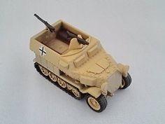 KAIYODO CapsuleQ Capsule Q WTM World Tank Museum Series 2 Deform Style Vehicle German Schutzenpanzerwagen Sand