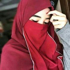 Red Niqab