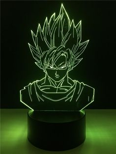Sensible Dragon Ball Broly 3d Visual Illusion Led Nightlight Rgb Color Changing Usb Dragon Ball Super Saiyan Action Figure Anime Dbz Toy Led Night Lights