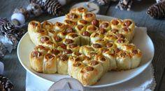 Wenn Du diesen essbaren Weihnachtsstern Deinen Gästen servierst, wirst Du wohl mit großen Augen belohnt werden! - DIY Bastelideen