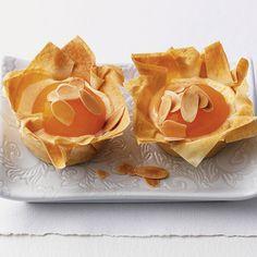 Cheescake Apricot Strudel