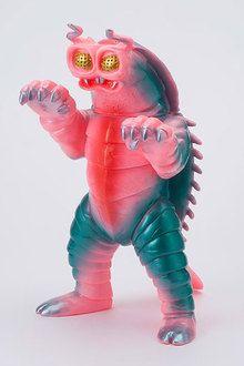 "Kaiju-kyo Sofubi Series - Kounetsu Kaiju Kiyla Pink (Regular Distribution) from ""Ultraman""(Released)(怪獣郷ソフビシリーズ 光熱快獣 キーラ ピンク (一般流通) 『ウルトラマン』より)"