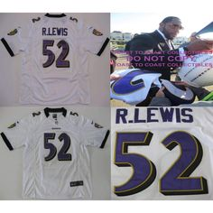 Ray Lewis Baltimore Ravens, Signed, Autographed, Ravens Jersey, a COA with the Proof Photo of Ray Signing Will Be Included..