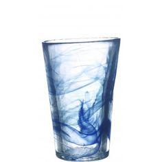 Kosta Boda, Mine vase blue