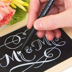 #KatieSheaDesign ♡❤ ❥ ▶  Fun with Chalk Framed Chalkboard #Crafts
