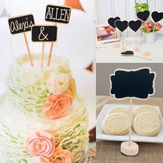 Perfect for Wedding party table decoration, cute wedding table numbers. 1pc x mini blackboard (blackboard only, other accessories are not included). Color: black. | eBay!