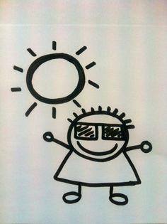 Señorita Gominola: Dibujos del tiempo atmosférico.