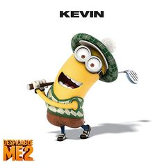 Meet Kevin from Despicable Me2, in theaters July 3rd!