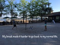 Taking a break from reality sometimes makes it harder to go back to normal life. A blog post written by a primary caretaker about finding ways to enjoy everyday reality.
