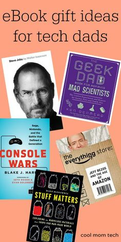 It's not too late! ebook gift ideas for last minute Father's Day gifts.