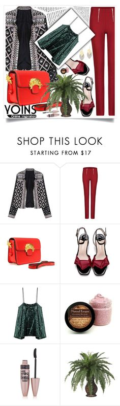 """""""Sans titre #271"""" by loveyoins ❤ liked on Polyvore featuring Maybelline and Nearly Natural"""