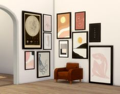 Sims 4 Cc Furniture Living Rooms, Sims 4 Beds, Sims Packs, Large Framed Wall Art, Muebles Sims 4 Cc, Sims 4 Bedroom, Sims 4 Clutter, Sims 4 Game Mods, Sims 4 Gameplay