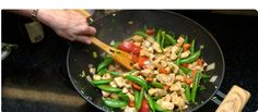 Choose stir frying for a shortcut to delicious healthy cooking.