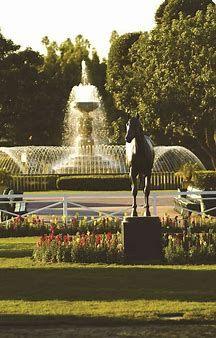 santa anita race park club house - Bing images Santa Anita Park, Bing Images, Fountain, Racing, Club, Outdoor Decor, House, Running, Home