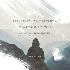 Jesús le dijo: Yo soy el camino, y la verdad, y la vida; nadie viene al Padre, sino por mí.