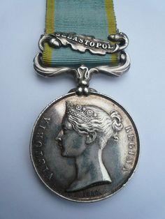 Original British Crimean War Medal (10th Hussars)