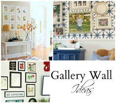 Easy Gallery Wall Ideas - Duke Manor Farm