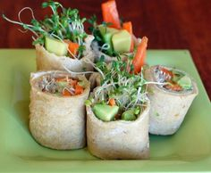 Ten delicious and healthy wraps you can take towork