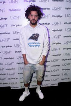 """J. Cole arrives at Light Nightclub in Las Vegas, NV ""                                                                                                                                                      More"