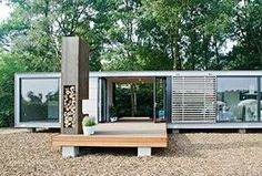 Container House - Prefab recreatiewoningen - Who Else Wants Simple Step-By-Step Plans To Design And Build A Container Home From Scratch? #prefabarchitecture