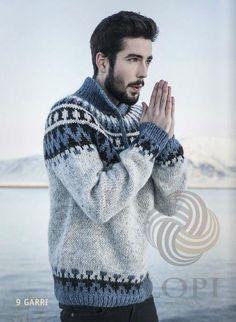 Good No Cost Crochet shawl men Suggestions – Icelandic Garri – knitting kit – – Nordic Store Icelandic Wool Sweaters Knitting Blogs, Knitting Kits, Fair Isle Knitting, Knitting Designs, Knitting Patterns, Free Knitting, Icelandic Sweaters, Wool Sweaters, Knitted Shawls