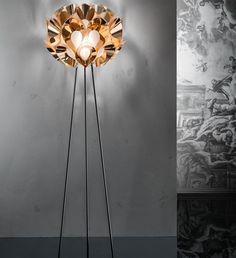 2016 Rio Olympics: a focus on Brazilian design pics: Slamp, lamp Flora Copper - designer: Zanini de Zanine - See more at: http://magazine.designbest.com